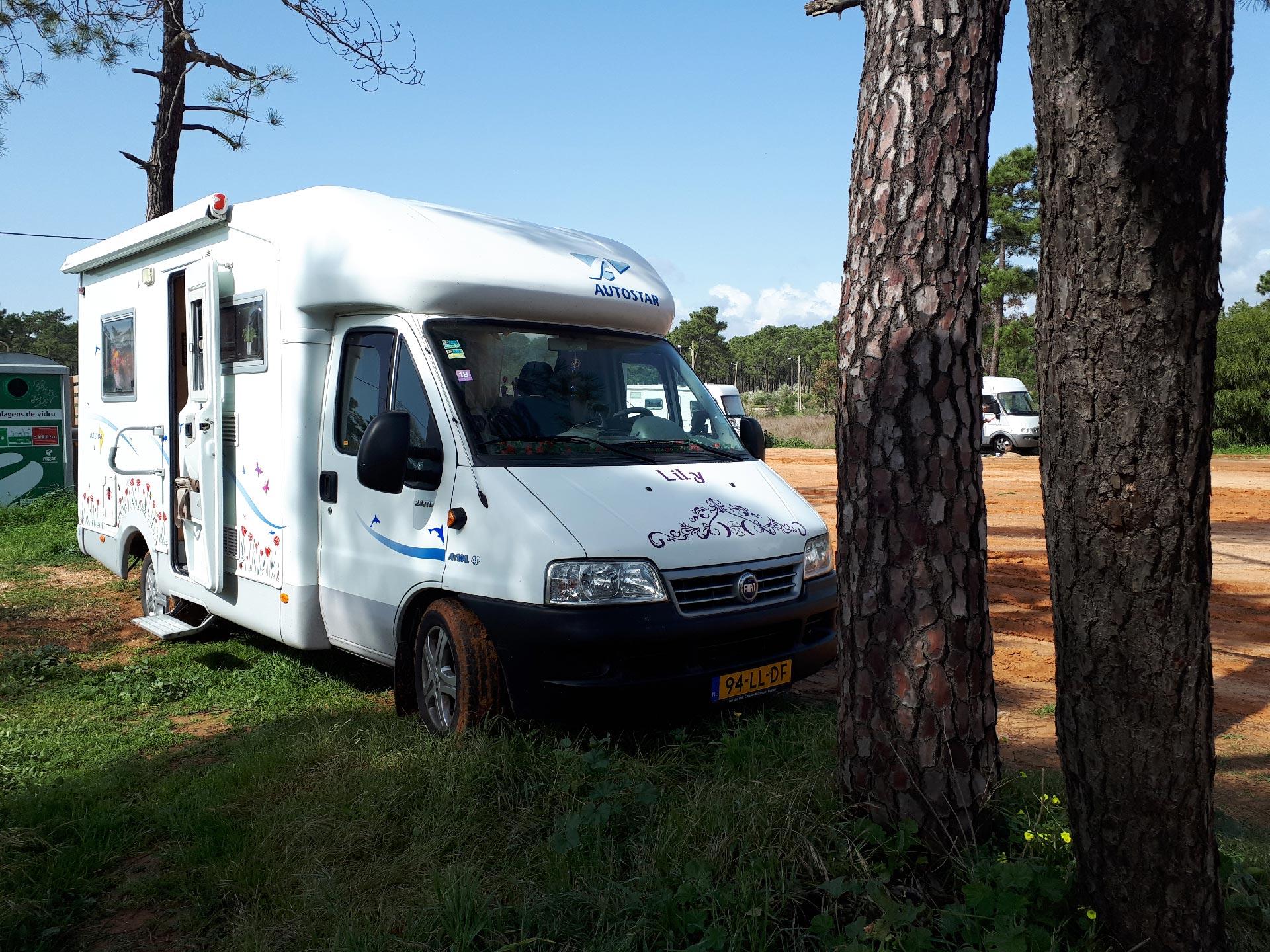 Camperen en overwinteren in de Algarve in Portugal